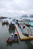 l'embarcadère de Panyi Island