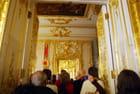 l'enfilade des pièces du palais de Catherine II