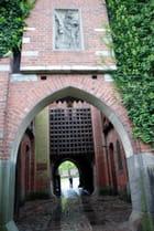 l'entrée de la forteresse Teutonique de Marienbourg