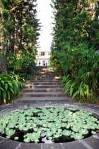 l'entrée du Conservatoire National Botanique de Mascarin