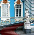 l'escalier d'entrée du Palais de CatherineII