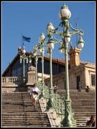 L'escalier de la gare Saint Charles...