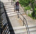L'escalier de la place Félicien David
