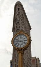 L'horloge de Flat Iron