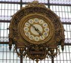 L\'horloge de l\'ancienne gare devenue musée