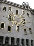 L'horloge du Mont des Arts