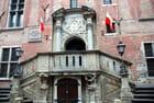 l'hôtel de Ville de Gdansk