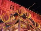 L'hotel de ville de Mulhouse drapé dans ses étoffes de Noël