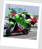 La belle Kawasaki...