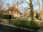 La bibliothèque et le parc