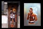 La Boxe. Street Art