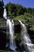La cascade du Rouget à Sixt-Fer-à-Cheval