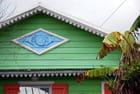 la case créole avec ses lambrequins