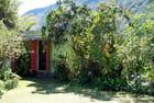 la case dans la verdure