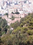 La cathédrale de Malaga et la Alcazaba