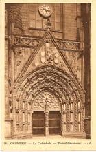 La Cathédrale, portail occidental