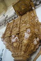 la chaire de la basilique Bon Jésus de Goa