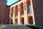 la cour intérieure de l'hôtel de ville de Stockholm