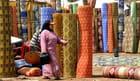 La dame aux tapis