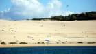 la danse des parapentistes sur la dune du Pyla