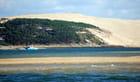 la dune du Pyla et les bancs de sable