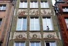 la façade décorée