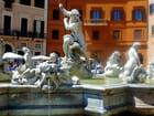 la fontaine de Neptune de la place Navone