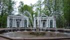 la fontaine de Peterhof