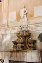 la fontaine de Saturne