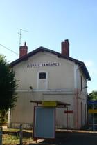 La gare d'Ambarés et Lagrave