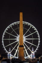 La grande roue el l'obélisque