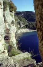 La grotte de la Baume.