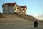 la maison en front d'océan