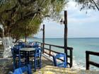 La mer de Lybie à Mirtos (Crête)