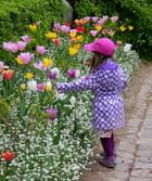 La petite anglaise au jardin des plantes