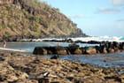 la piscine d'eau de mer de Grand Anse