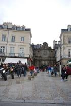 la Place Gambetta de Vannes