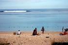 la plage de Saint Pierre
