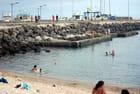 la plage du port de Saint Pierre