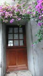 La porte au rideau