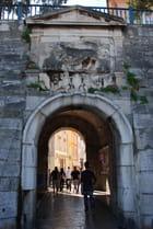 la porte d'entrée dans la vieille ville