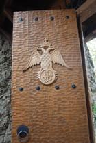 la porte d'entrée du monastère Saint Nicolas