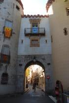 la porte d'Espagne à Ceret