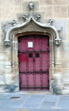 La porte du musée