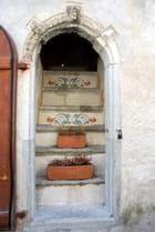 la porte escalier