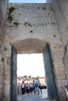 la porte sur la mer Adriatique