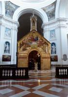 La Portioncule dans la basilique Sainte-Marie-des-Anges