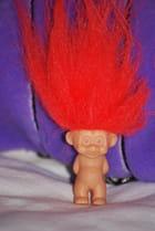 La poupée hirsute