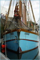 La proue du bâteau à Lorient