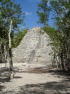 La pyramide de Coba